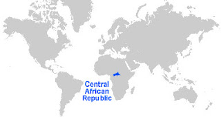 image: Central African Republic Map Location