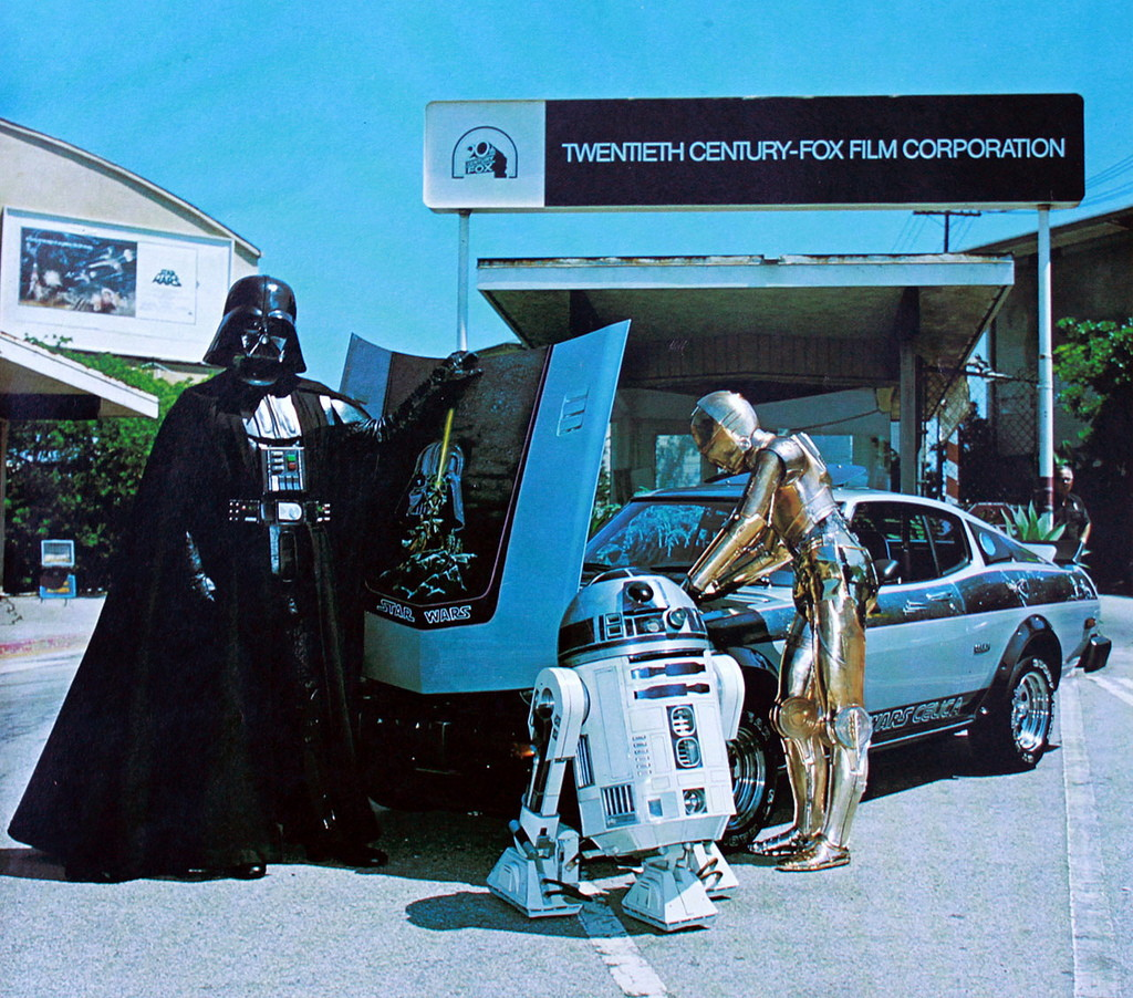 Star Wars, Delphi Auto Design in Costa Mesa, Toyota Celica