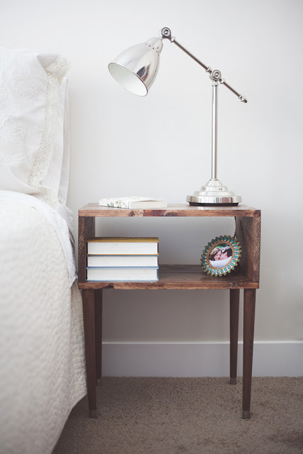 A DIY NIGHTSTAND WOOD