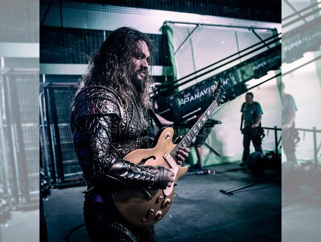 Nueva foto de Aquaman desde el set de 'Justice League'