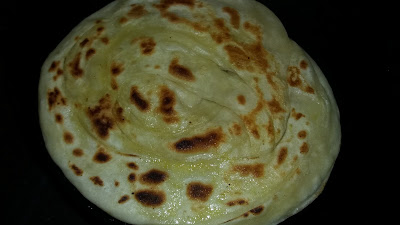 how to make layered soft parotta / kerala paratha by aju p george