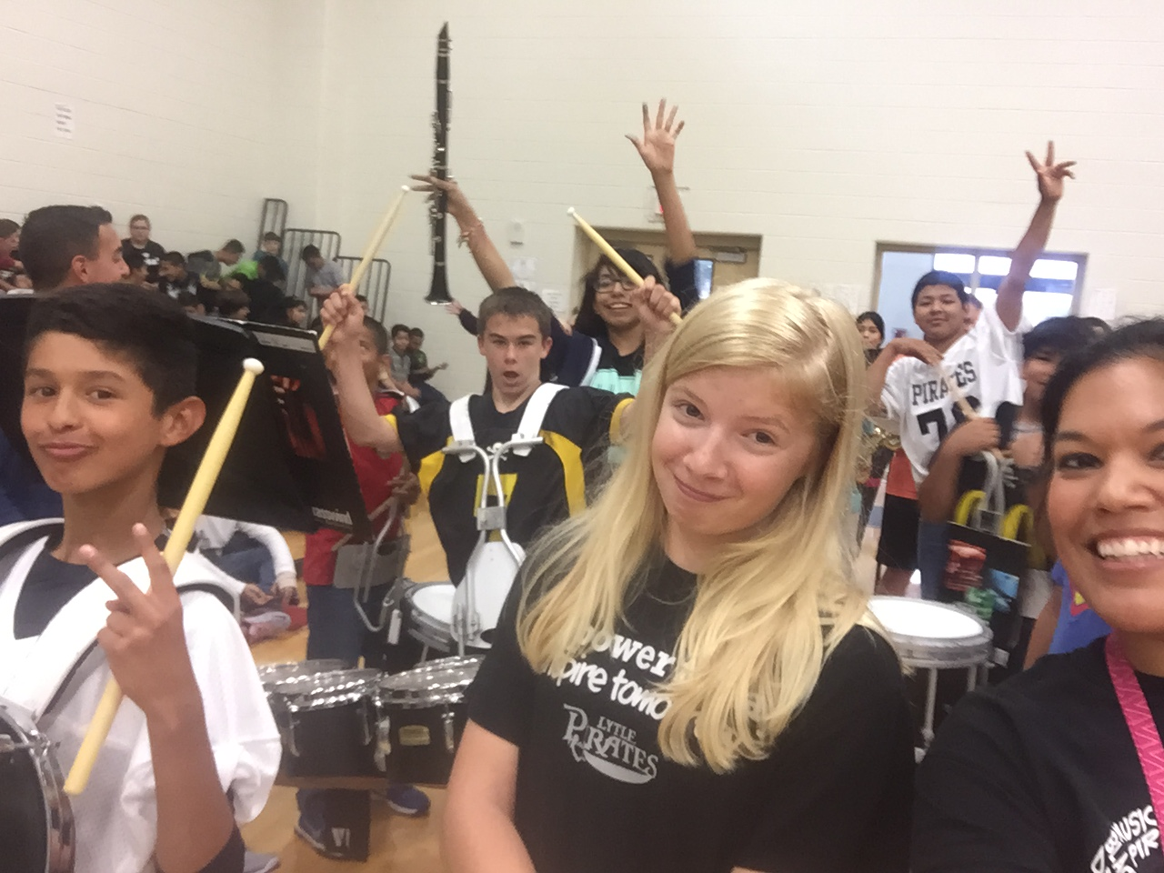 Lytle Junior High Band October