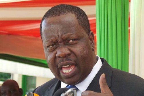 Education Cabinet Secretary Fred Matiang'i