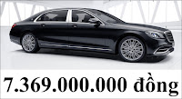 Giá xe Mercedes Maybach S450 4MATIC 2018
