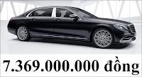 Giá xe Mercedes Maybach S450 4MATIC 2019