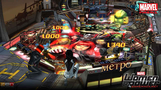 Pinball FX2 Marvel Women of Power Gameplay Screenshot 4