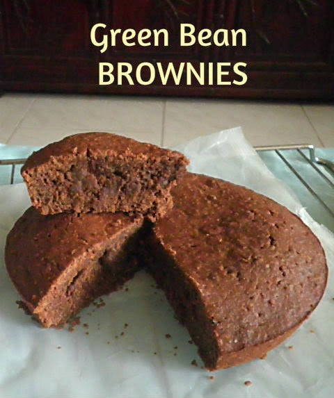 Gluten Free Green Bean Brownies