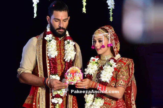 Yuvraj Singh & Hazel Keech Wedding Pictures in Goa