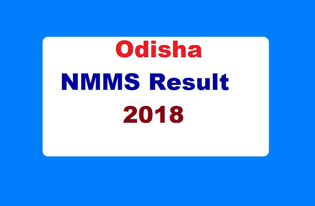 Odisha NMMS Result 2018
