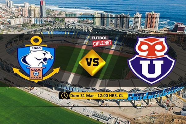 Mira Antofagasta vs Universidad de Chile en vivo y online por la Primera División