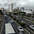 Rodovia BR-101 com boas condições de tráfego no perímetro urbano da capital