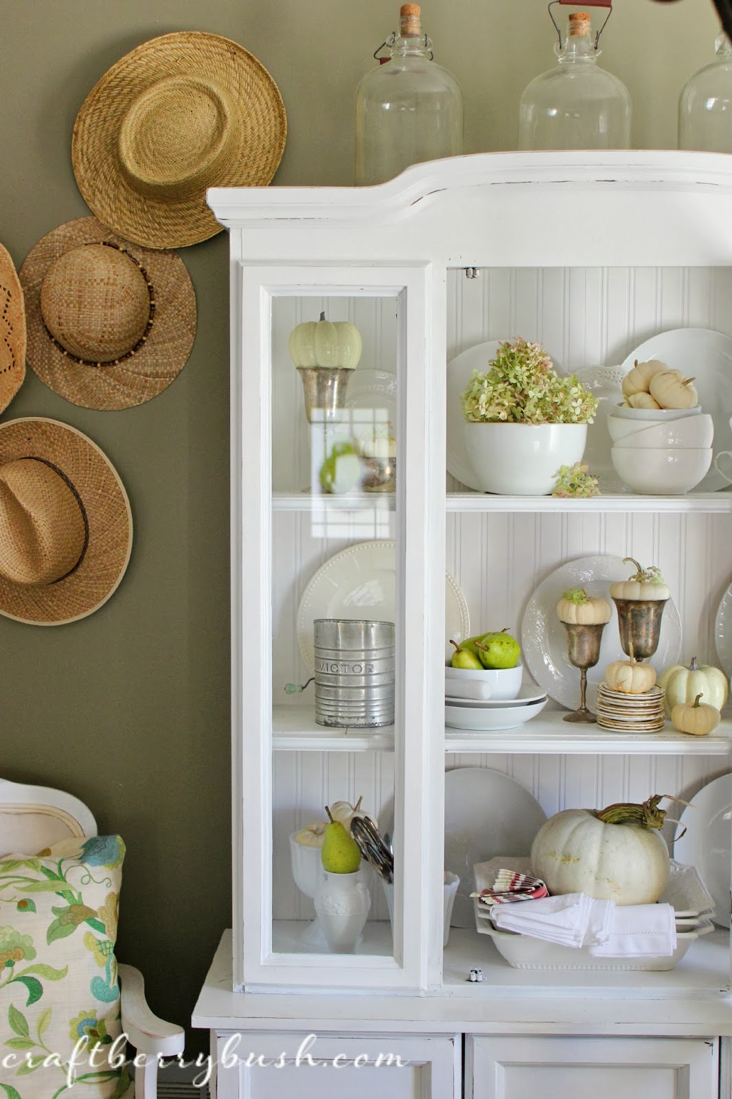 For the Love of Home  a Fall Hutch