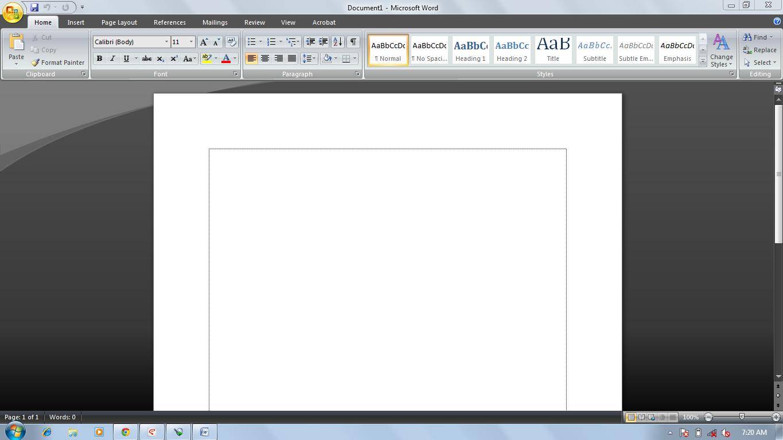 Cara Merubah Tampilan Pada Microsoft Office 2007