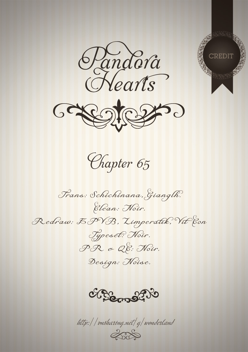 Pandora Hearts chương 065 - retrace: lxv collapse trang 68