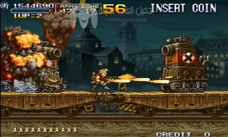 تحميل لعبة حرب الخليج 2 Metal Slug