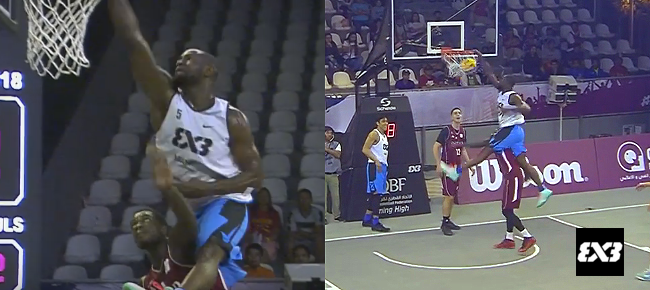 PHL's Bright Akhuetie INSANE Poster Slam vs Qatar (VIDEO)
