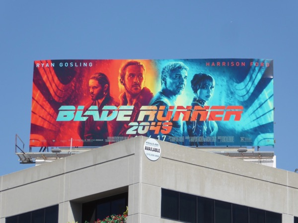 Blade Runner 2049 billboard