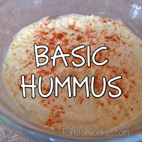 Basic Hummus Recipe