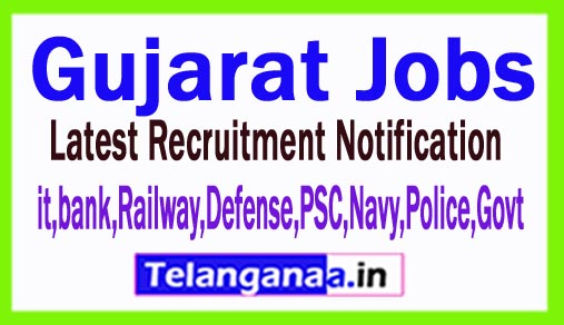 Latest Gujarat Government Job Notifications