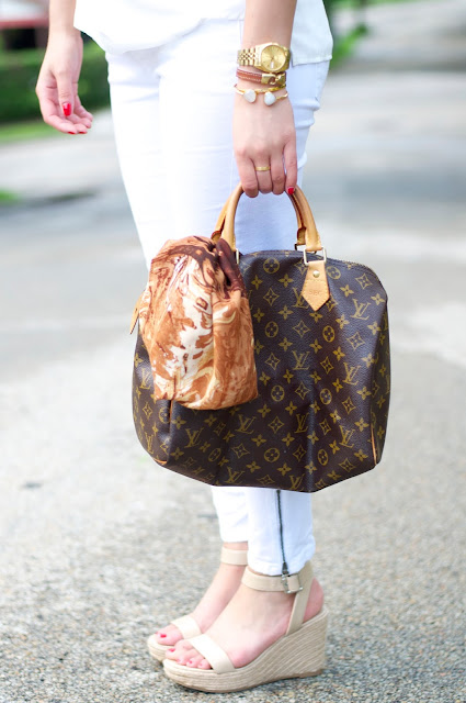BCBG Max Azria for MAGNUM and Louis Vuitton speedy 30