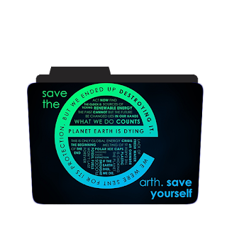 Save the earth Theme Icon