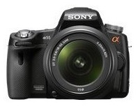 Sony SLT-A55VL Digital Camera with 18-55mm lens