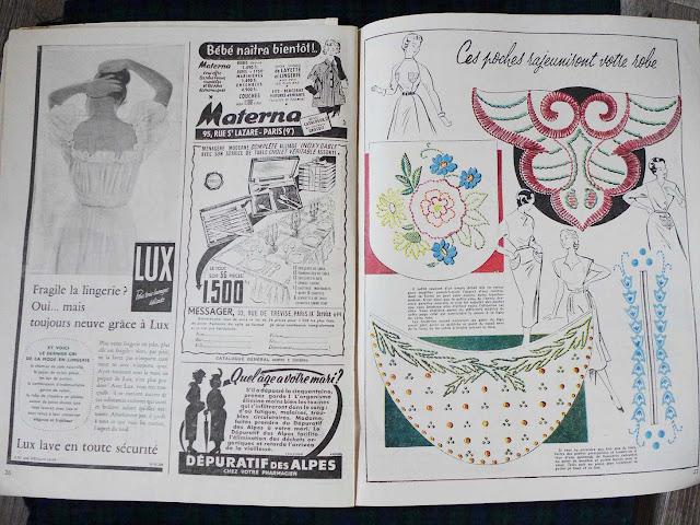 "magazine ""mon ouvrage"" 1955"