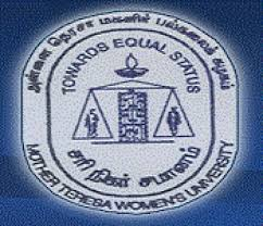Mother Teresa Women's University Results 2017