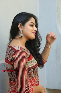 Telugu Actress Nikhila Vimal Latest Stills in Anarkali Dress  0108.JPG