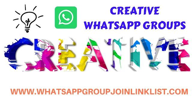Creative WhatsApp Group Join Link List