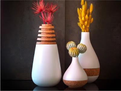 model vas bunga