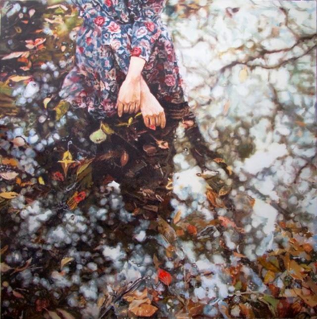 Китайский художник. Zhongwen Yu