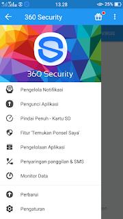 fitur dari aplikasi 360 security