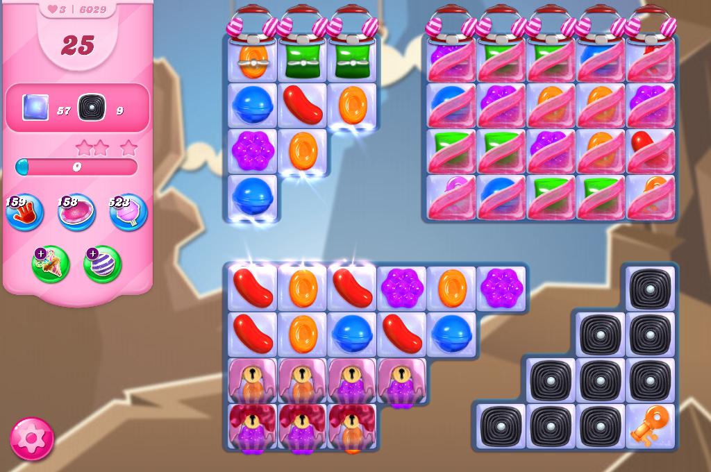 Candy Crush Saga level 6029