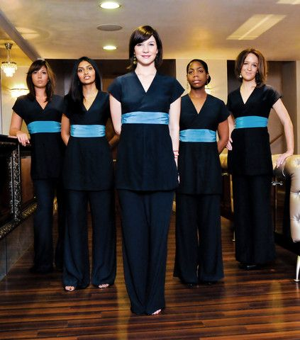 Get online spa uniforms with best quality in sydney for Spa uniform online