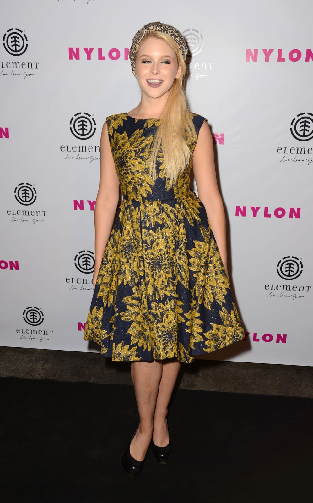 Renee Olstead at the NYLON Magazine August Issue Launch Party, Hollywood - HD Photos
