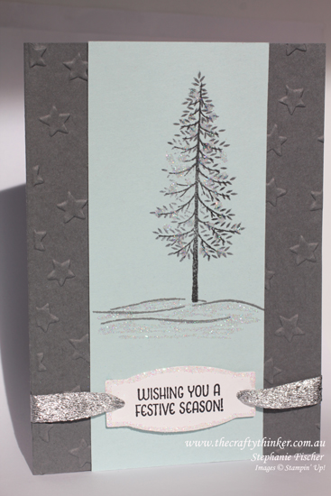 Stampin Up, Thoughtful Branches, Christmas Card, Stampin Up Australia Demonstrator