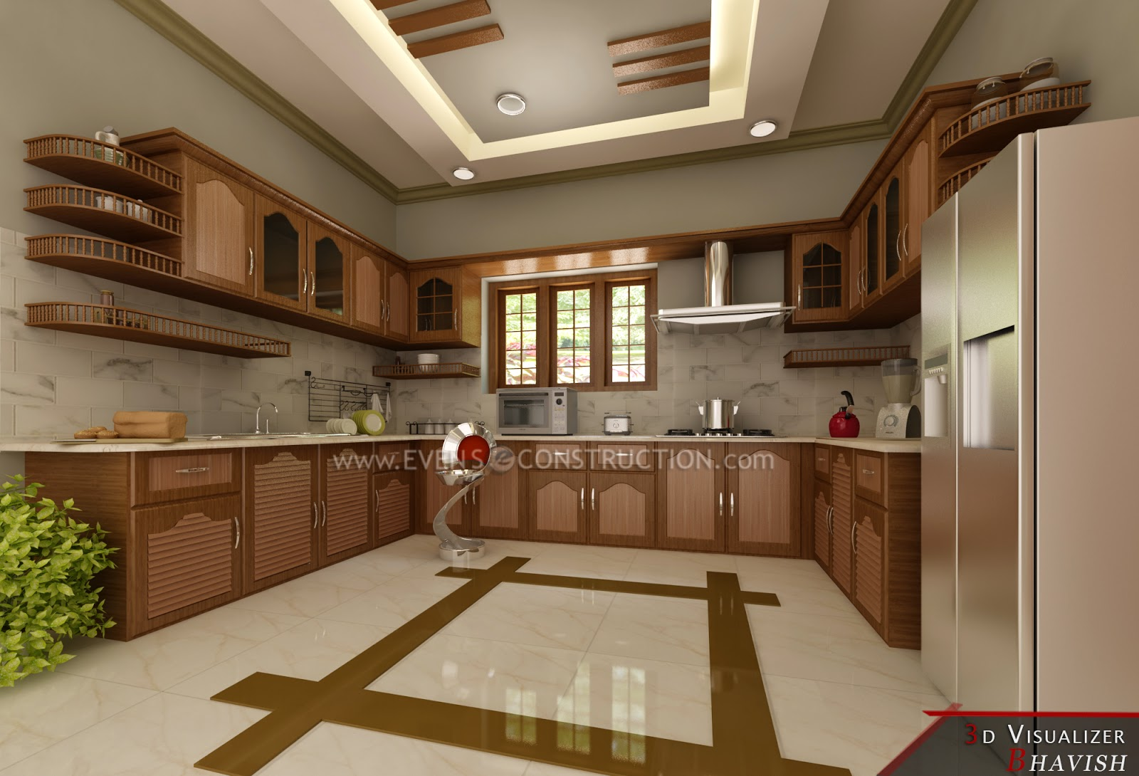 Mostly We Are Thinking About Kitchen That Makes You Feel Better And Relax  More Comfortable While Preparing Your Foods. Here Is Some Modern Ideas And  Designs ... Part 74
