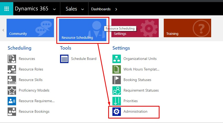 Shaikhblog - Microsoft D365: Resource Scheduling Administration