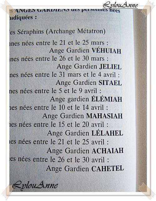 Lylou.Anne Collection: Le Nom De Votre Ange Gardien Est...