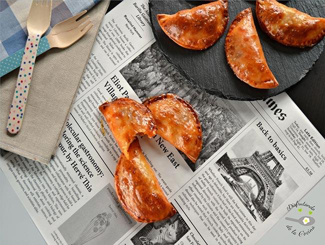 Empanadillas de sobrasada y queso de Mahon