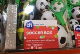 Soccer Box, voor 4 jongens