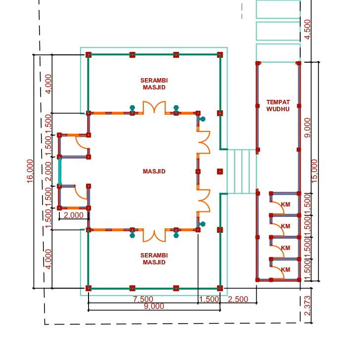Desain Arsitektur Pesantren Hubungi 082333339949