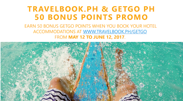 Travelbook and Getgo Promo