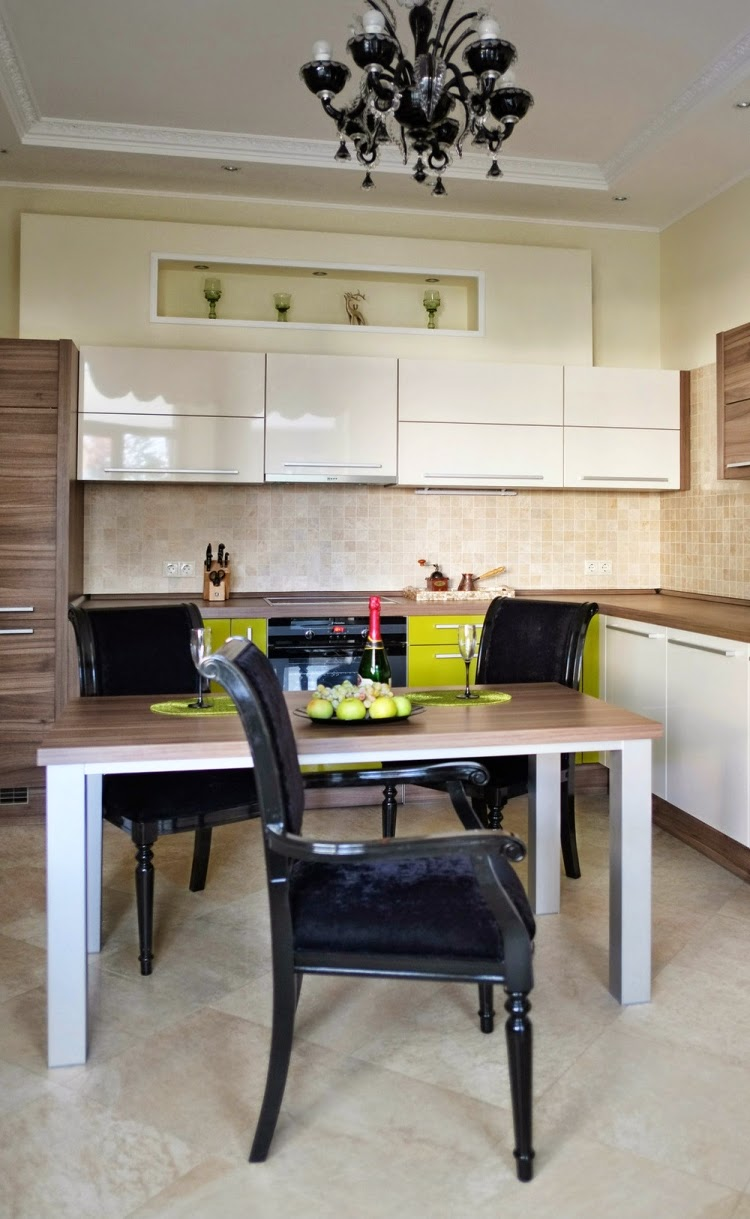 Decorar una cocina y comedor juntos colores en casa for Cocina y bano juntos