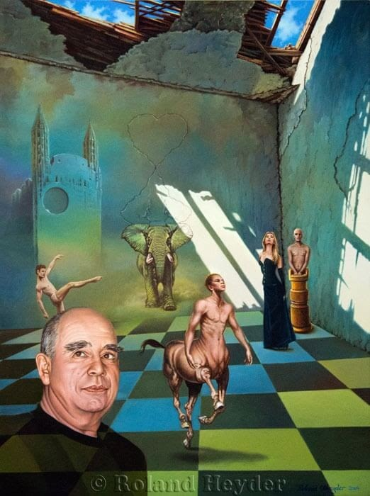 02-The-chess-draught-of-a-Centaur-Roland-Heyder-Surreal-Oil-Paintings-on-Canvas-www-designstack-co