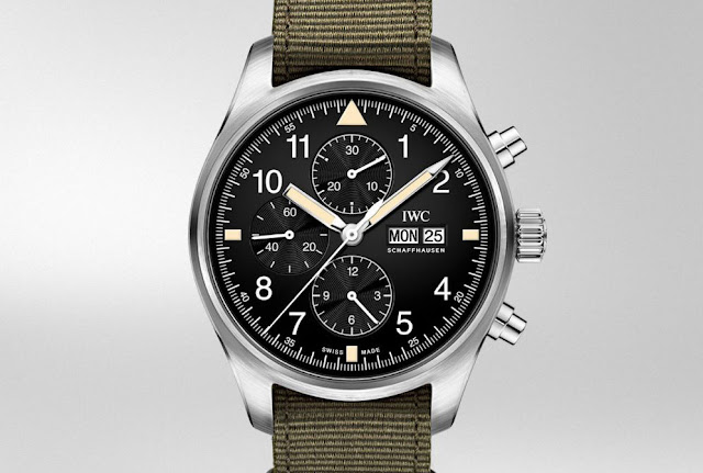 The new IWC Pilot's Watch Chronograph Online Boutique Edition IW377724