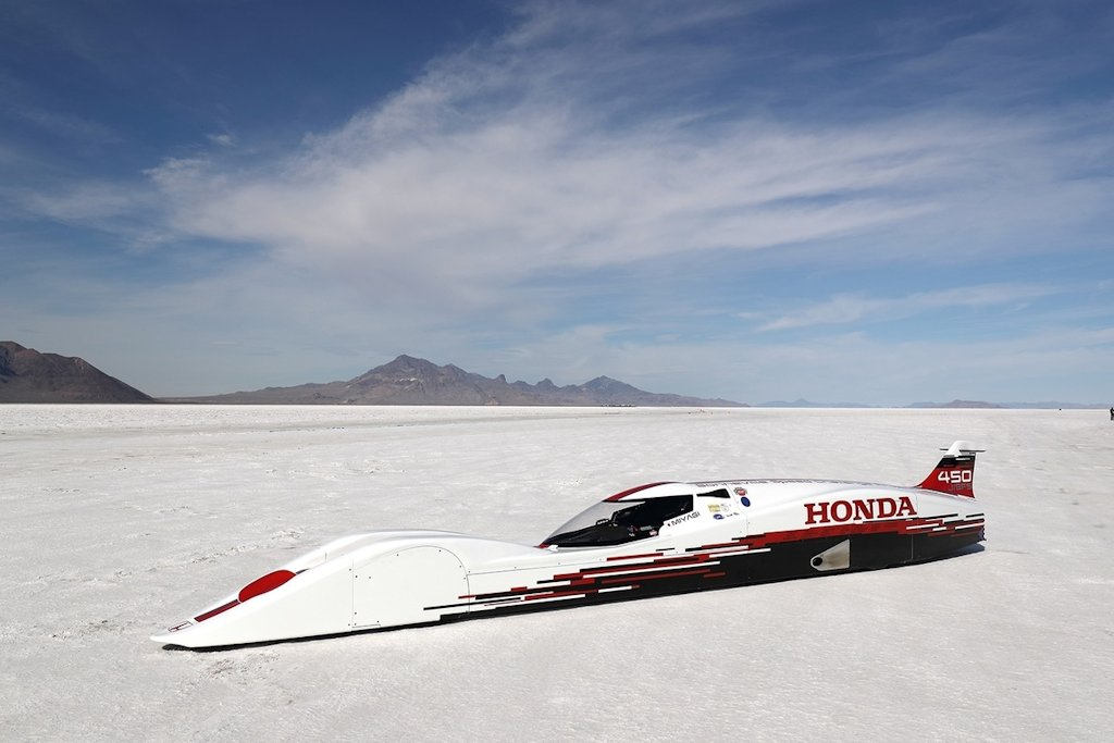 The S Dream Is The Fastest Honda Ever Beating The Record Set By The Bar Honda Formula One Car In 2006 It Set A New Fia World Record Of 261 875 Mph