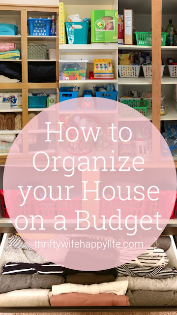 Tips for Organizing your House on a Budget