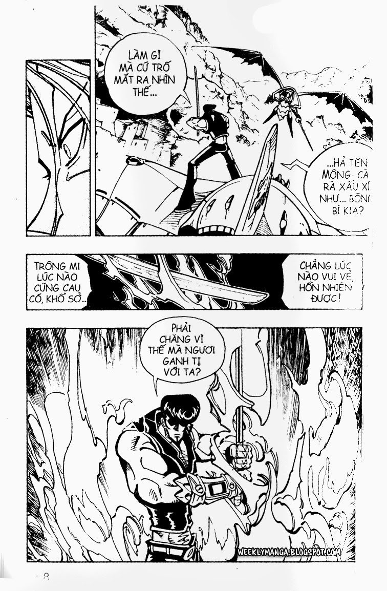 Shaman King [Vua pháp thuật] chap 100 trang 21